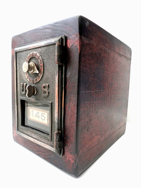vintage post office box