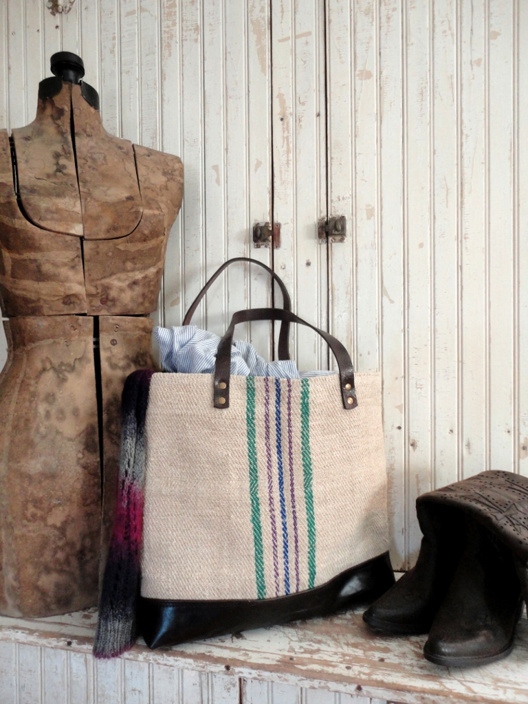 tnbc designs grain sack tote