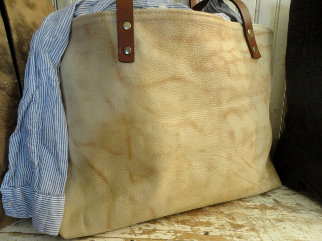 tnbc designs leather tote