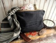 tnbc designs repurposed Japanese boro pouch