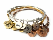 tnbc designs paw dog bracelet