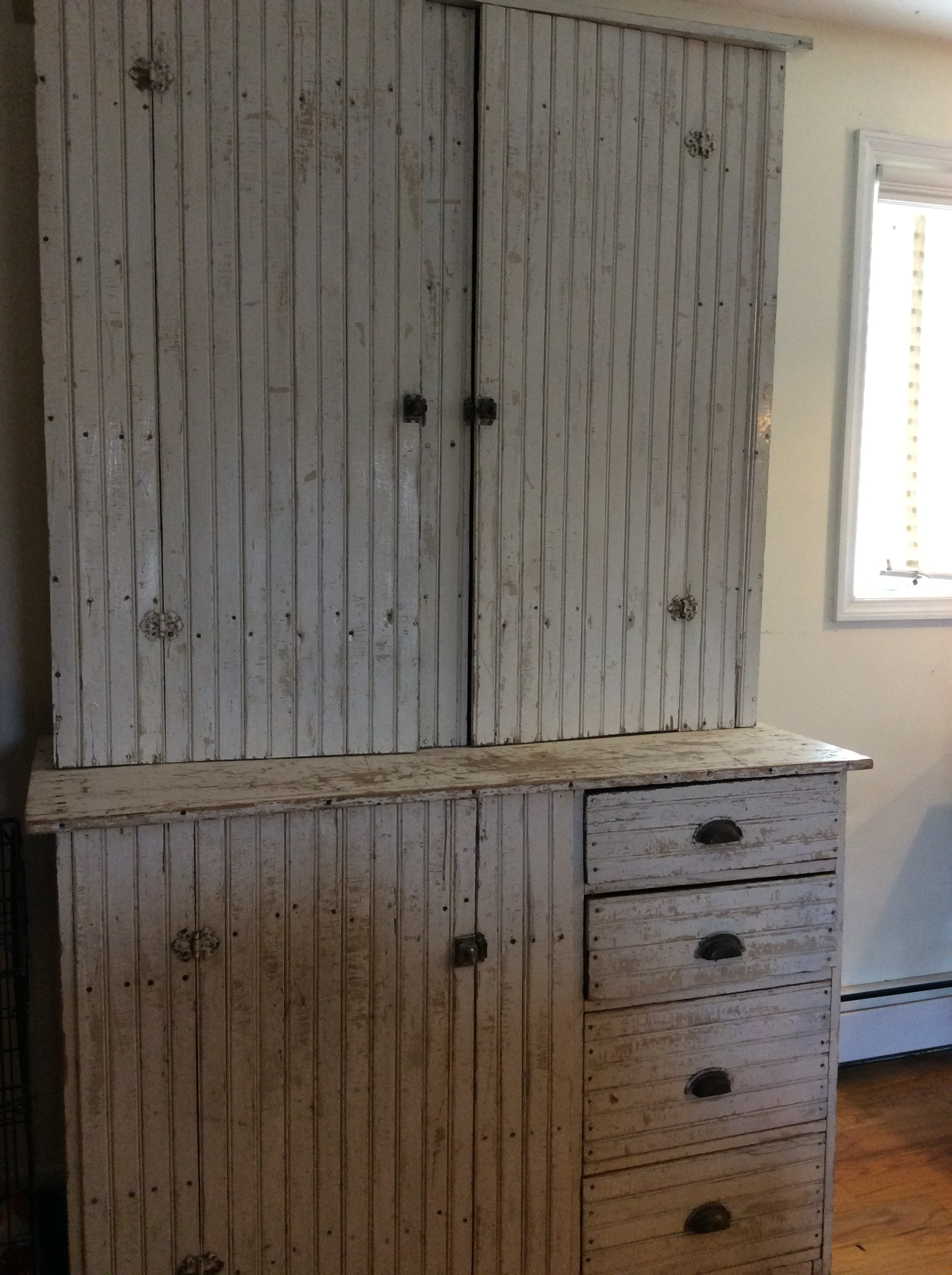 stepback cupboard
