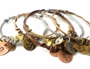 tnbc designs recycled metal bracelets